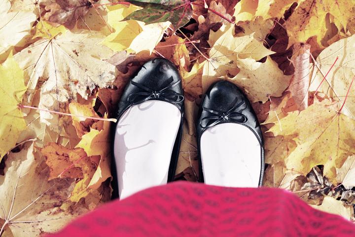 emmas vintage ballerina autumn höst