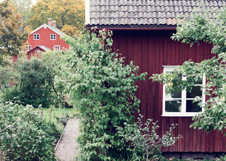 falurött hus värmland emmas vintage