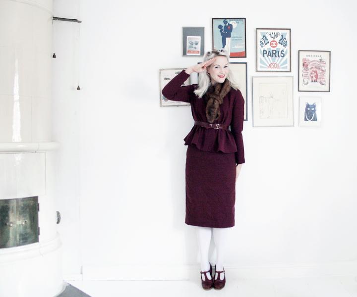 emmas vintage pennkjol mode