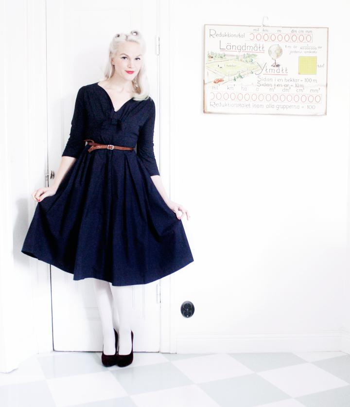 jumperfabriken emmas vintage klänning klänningar 50-tal