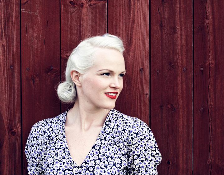 emma sundh 30's 1930's hair style blond