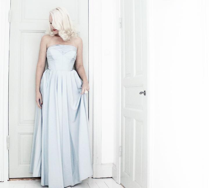judits secondhand emmas vintage långklänning vintageklänning