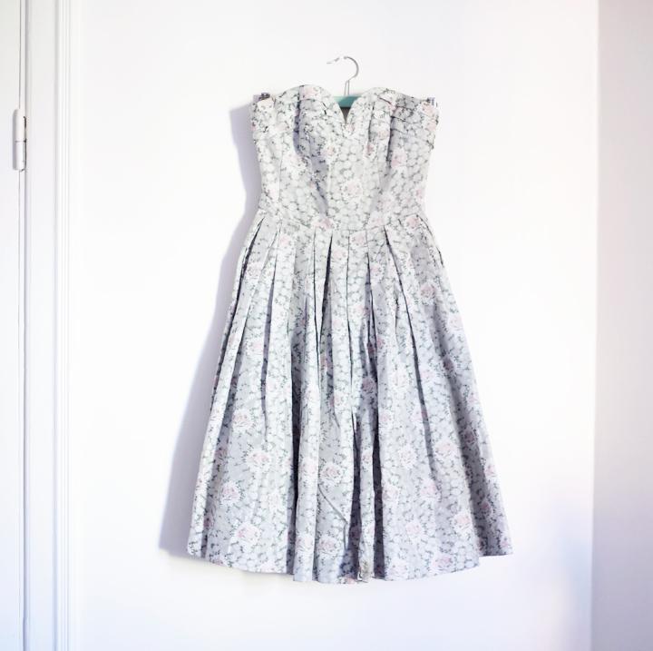 klänning lyckliga gatan emmas vintage vintageklänning