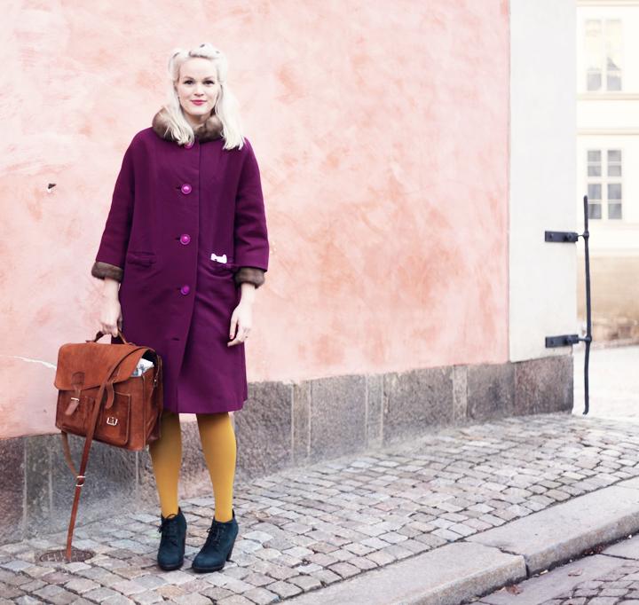 riddarholmen emmas vintage höstkappa