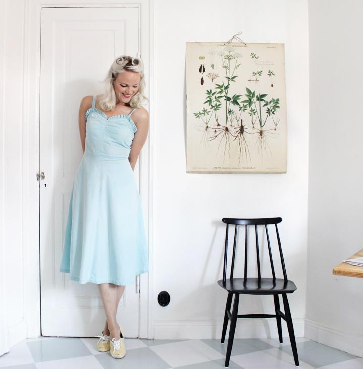 emmas vintage vintageklänning