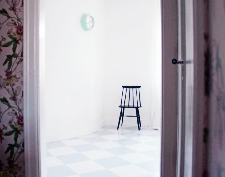 rutigt golv emmas vintage