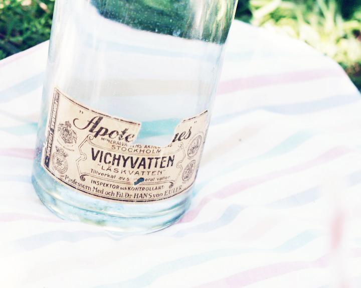 picknick emmas vintage vichyvatten