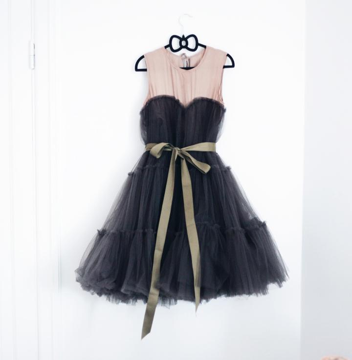 dress lanvin H&M