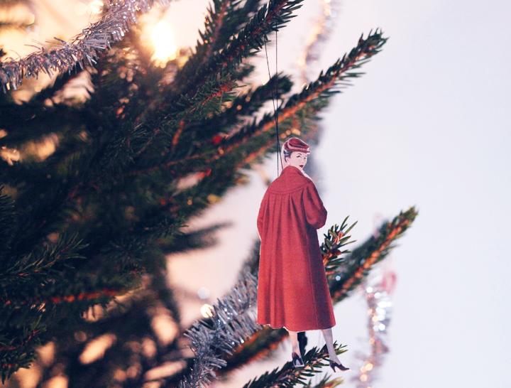 christmas tree decoration 50's