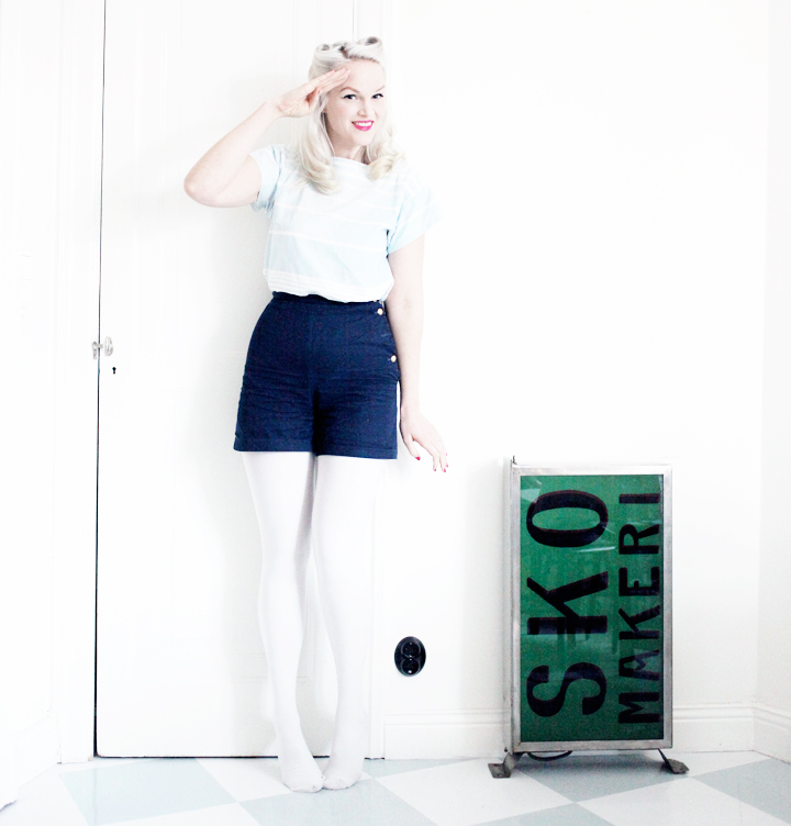 emma sundh sailor shorts