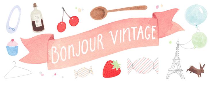 Bonjour Vintage-Madeleine