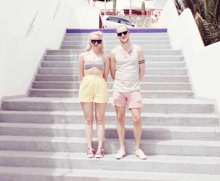 playa del cura gran canaria shorts bikini