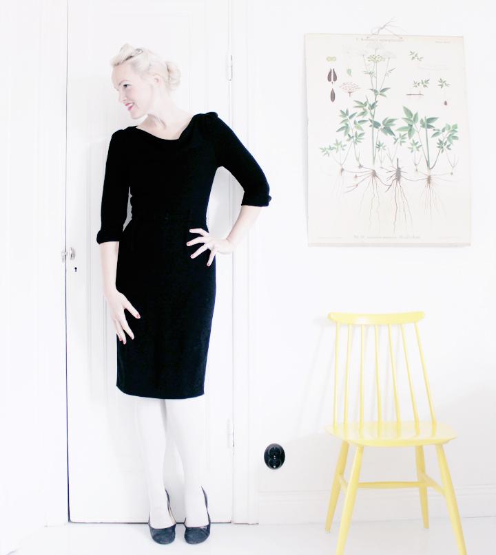 little black dress vintage