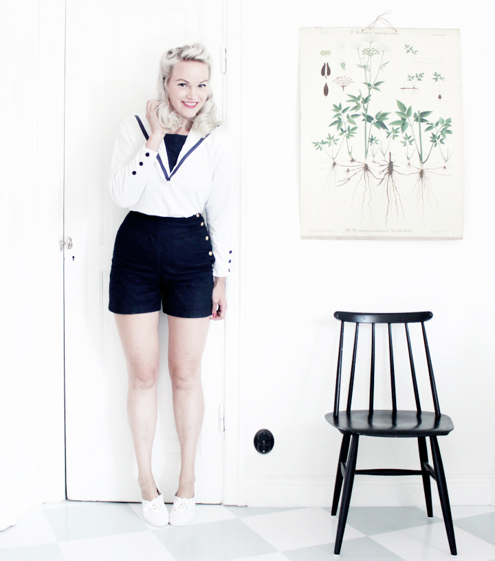 sailor shorts by emmas vintage