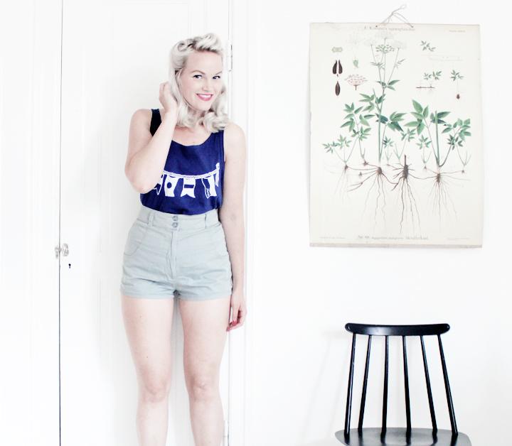 shorts sommar by emmas vintage