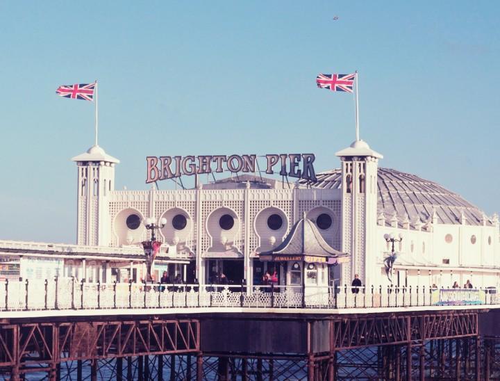 brighton pier by emmas vintage
