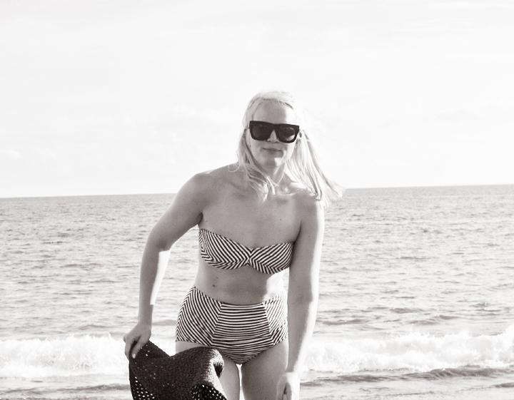 playa del cura emmas vintage randig bikini