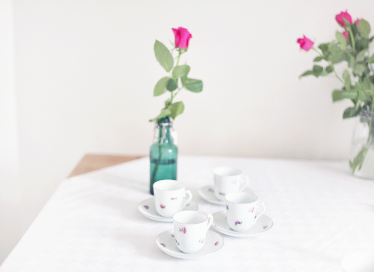 rose coffee cup by emmas vintage