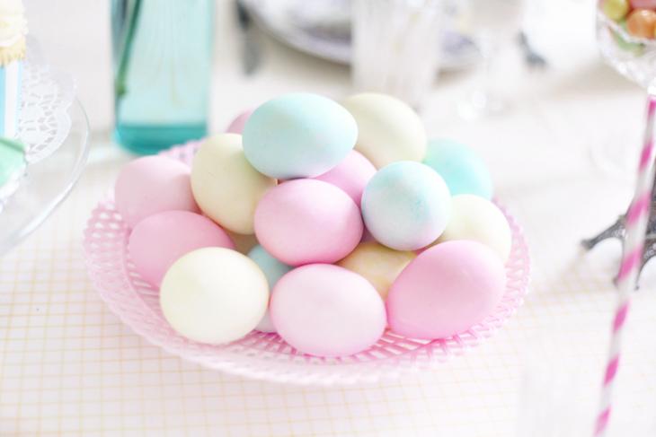 påsk dukning ägg inspiration by emmas vintage
