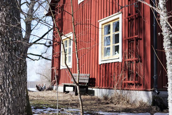 falurött hus by emmas vintage