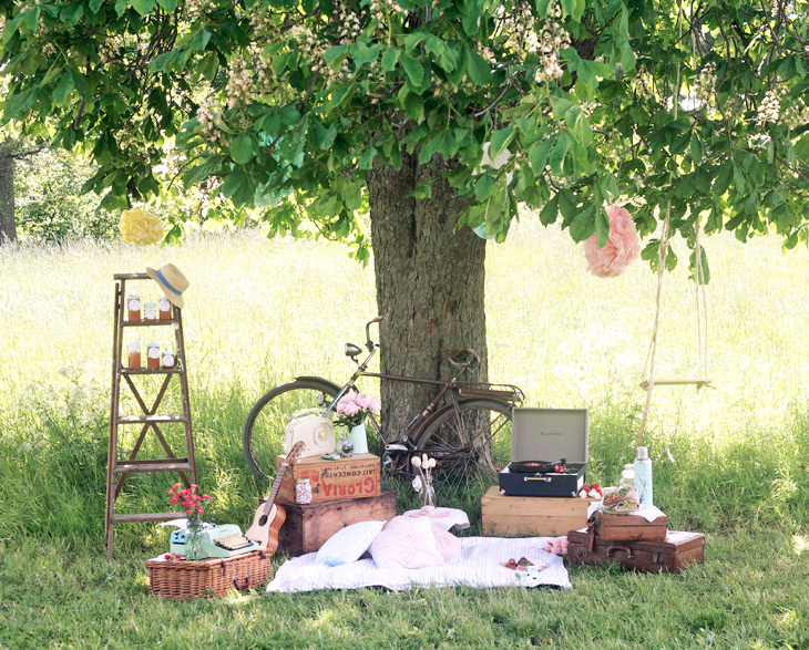 picknickparty vintageparty by emma sundh