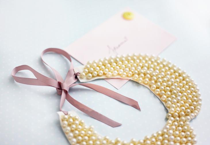necklace DIY pearls by emmas vintage