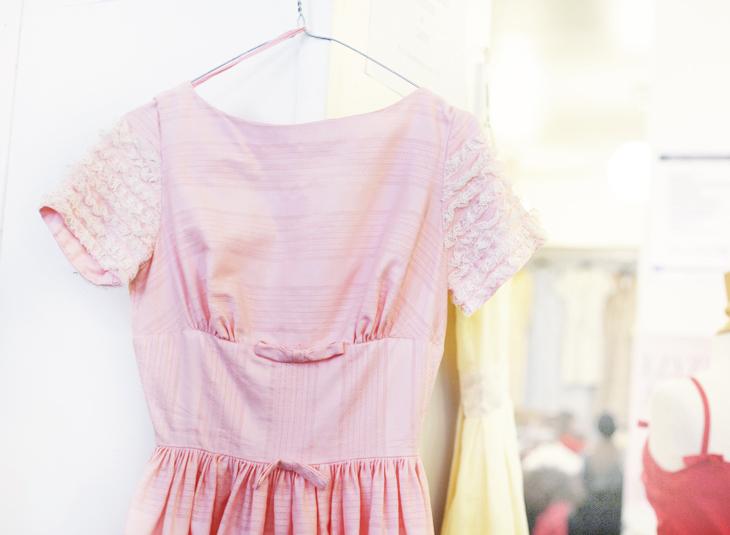 pink dress by emmas vintage