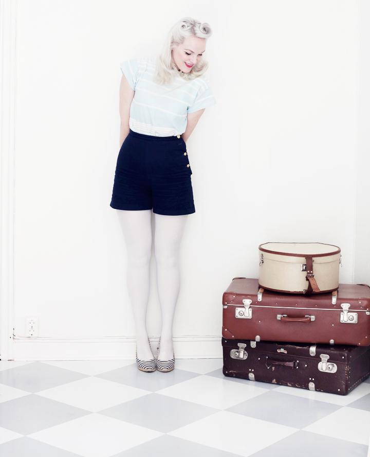 shorts koffert koffertar by emmas vintage