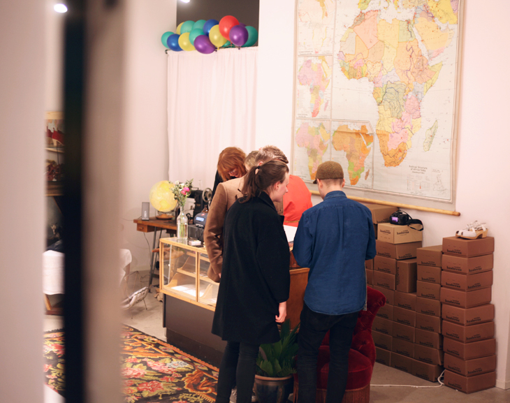 swedish hasbeens pop up store by emmas vintage