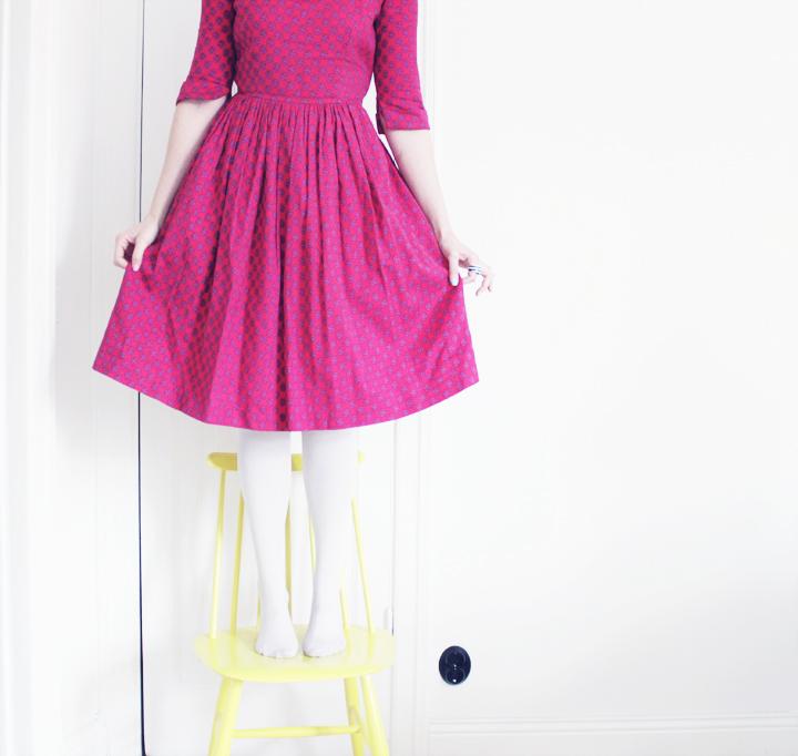 vintage dress vintagemassan-bakat-framat