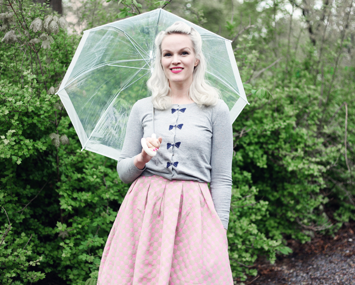 paraply umbrella by emmas vintage