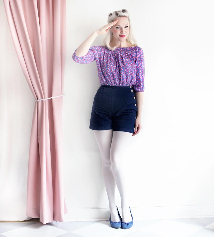 shorts by emmas vintage