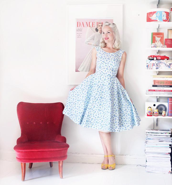 vintagefabriken  klänning by emmas vintage