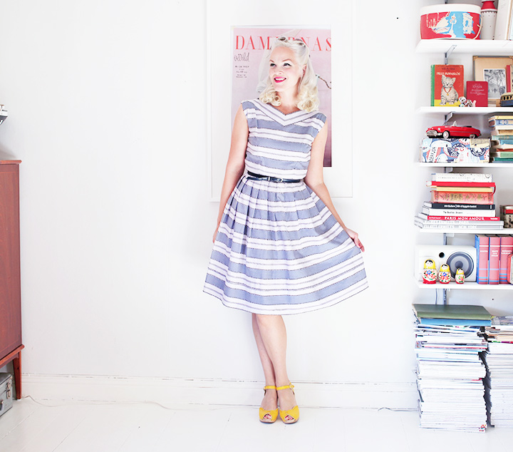 vintage dress by emmas vintage
