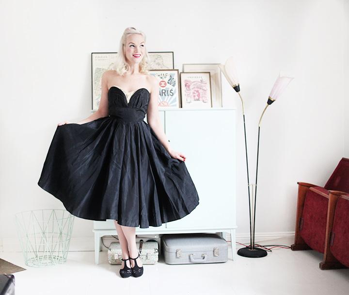 cocktail dress by emmas vintage