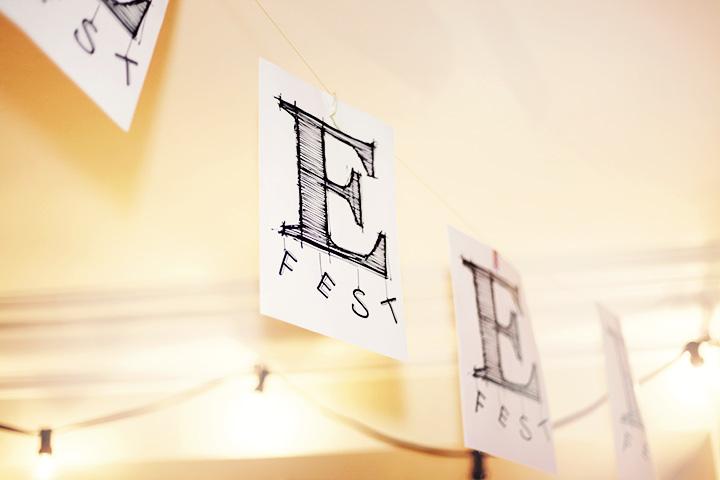 e party e-fest bokstavsfest by emmas vintage
