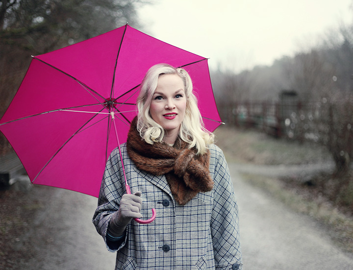 umbrella by emmas vintage