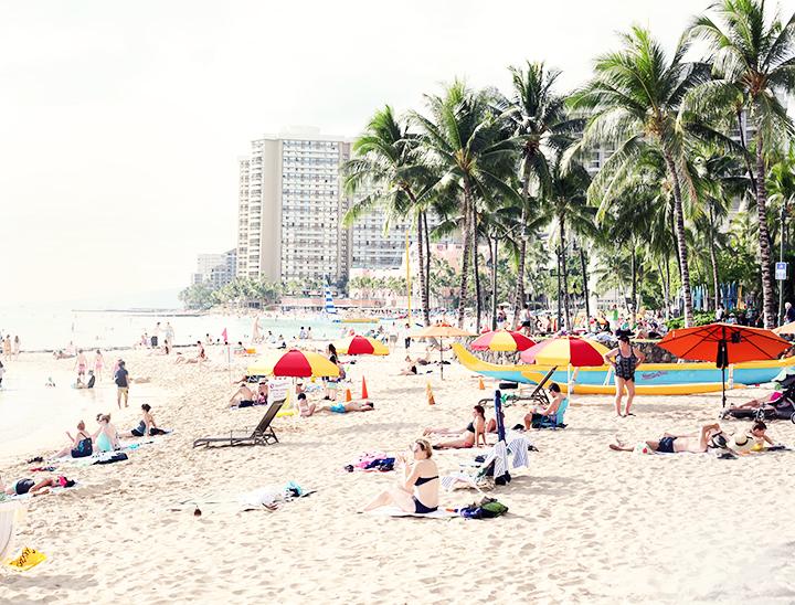 beach honolulu by emmas vintage