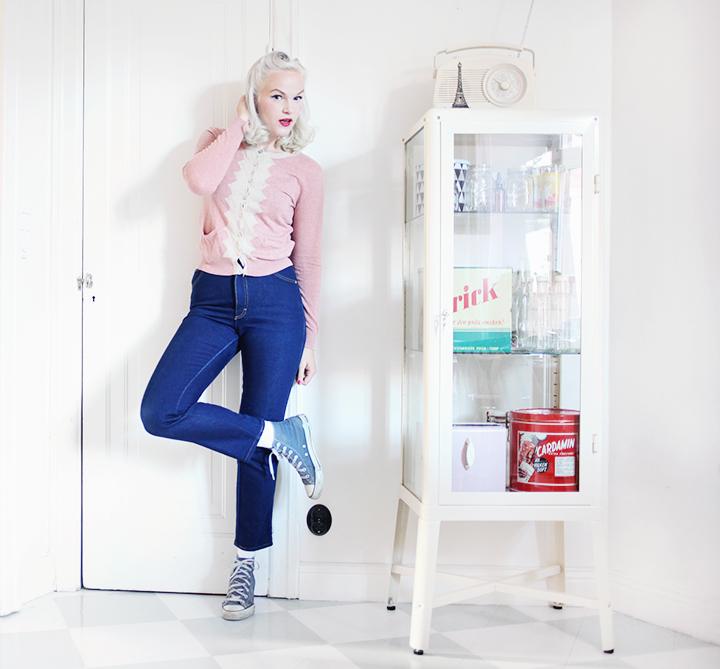 jeans kofta by emmas vintage