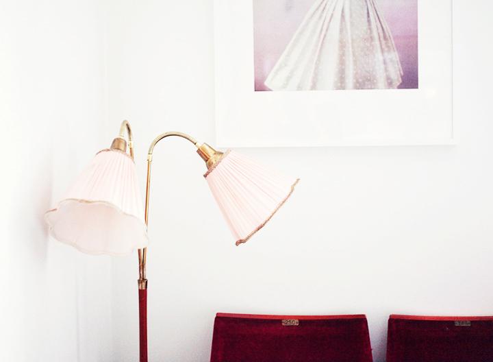 tvåarmad lampa retro by emmas vintage