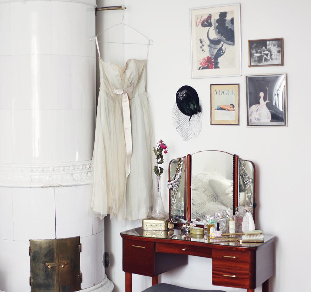 sminkbord inredning interior vintage