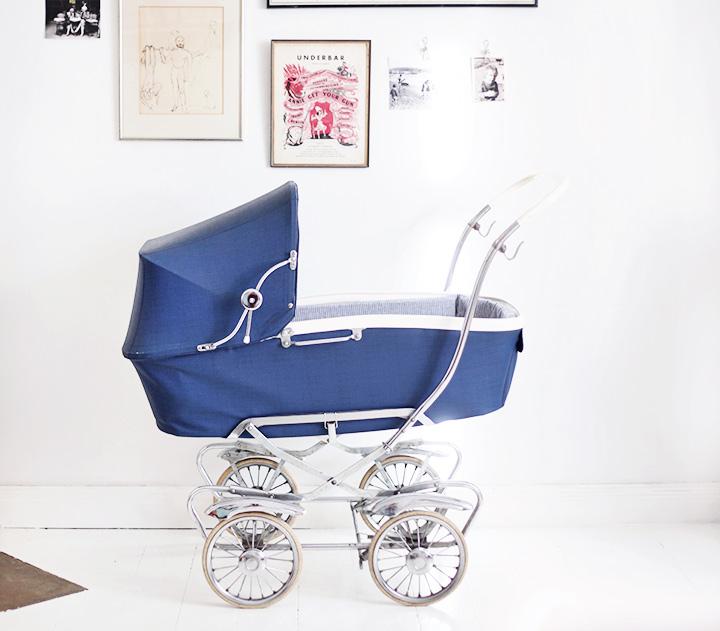 retro barnvagn by emmas vintage