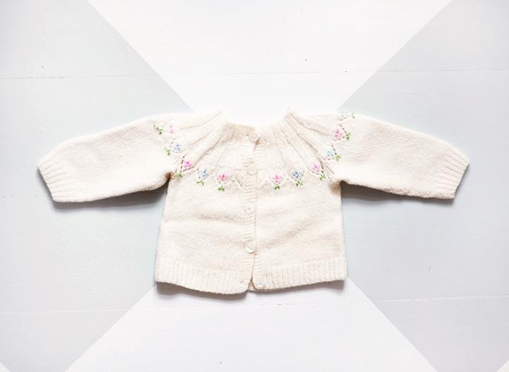 barnkläder kofta by emmas vintage