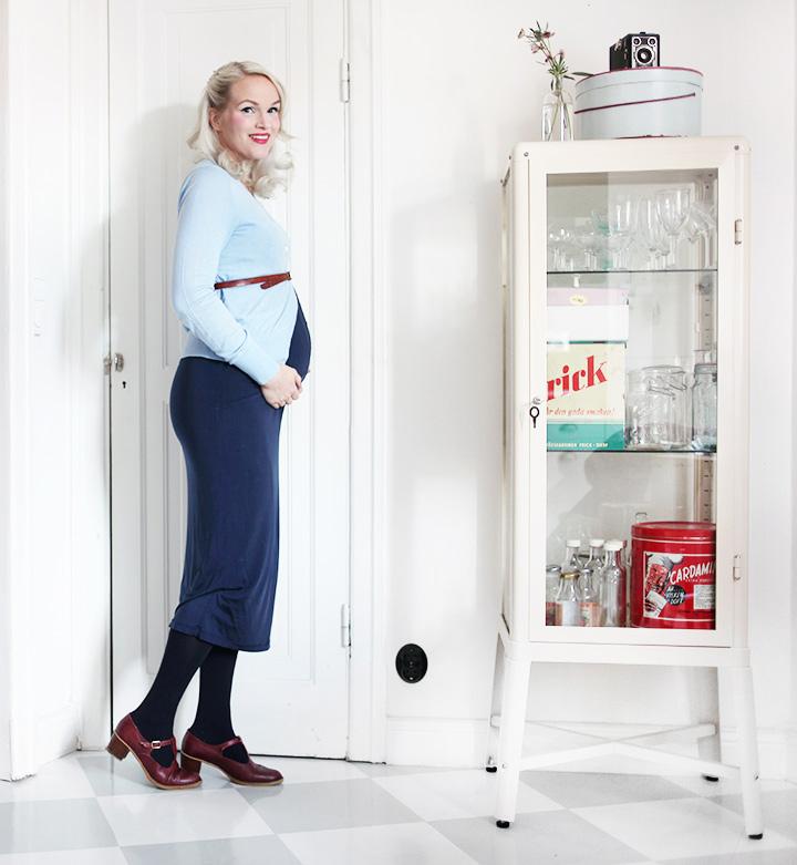 gravidkläder gravidmage vecka 25 by emmas vintage