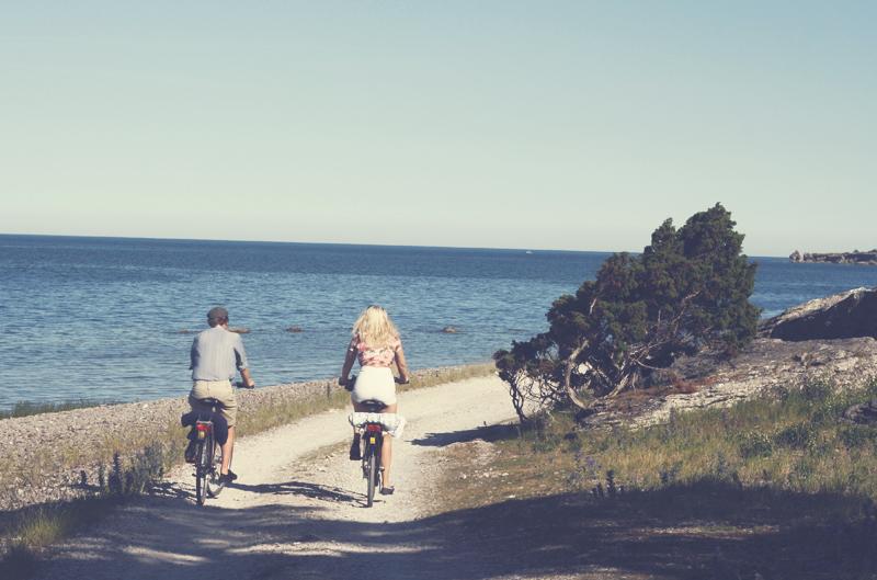 Gotland sommar cykla by emmas vintage