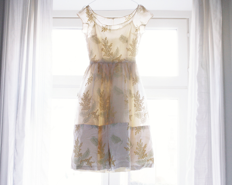 vintageklänning Guldknappen by emmas vintage