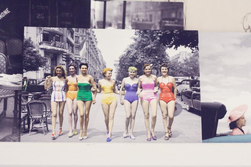 Paris vykort by emmas vintage