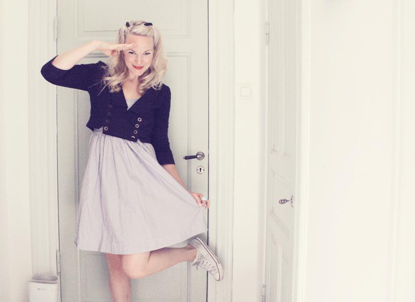 klänning sailorjacka Burfitt by emmas vintage