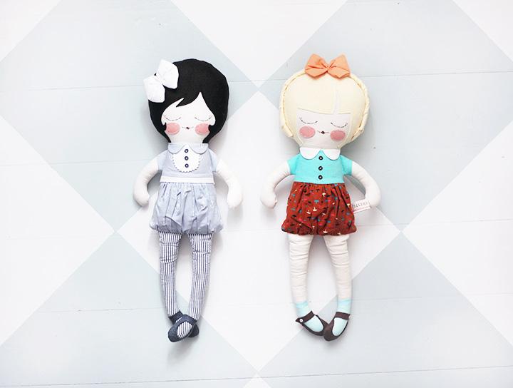 dockor leksaker barn emmasvintage