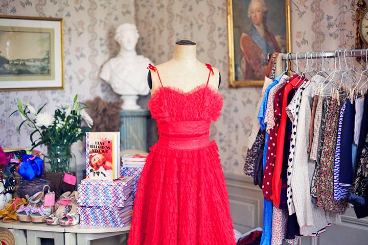 vintagebloppis klänning emmas vintage